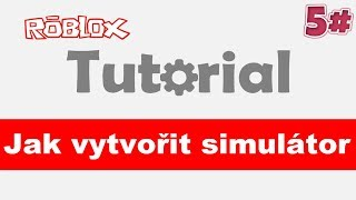🔨[Tutorial] Jak vytvořit simulátor - VIP výhody / 5# / Roblox studio / CZ / jurasek05