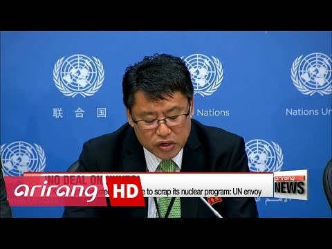 N. Korea not interested in dialogue to scrap its nuclear program: UN envoy
