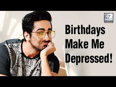 Why Ayushmann Khurrana Hates Celebrating His Birthday? | LehrenTV Mp3