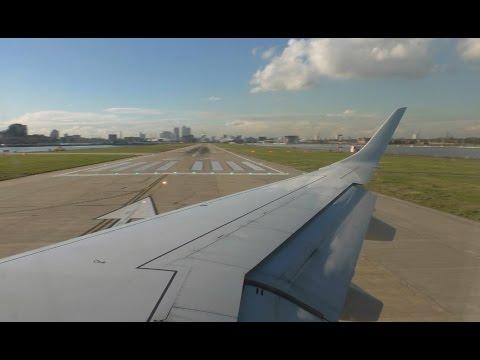 British Airways CityFlyer Embraer E190 - London City to Zurich - Takeoff and Landing BA8765
