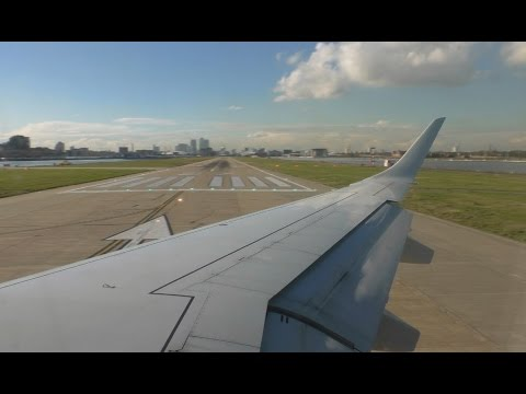 British Airways CityFlyer Embraer E190 - London City to Zurich - Takeoff and Landing BA8765