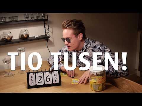 """WOW"" - Jakob vinner 10.000 kronor på en trisslott!!!!!!!!!!"