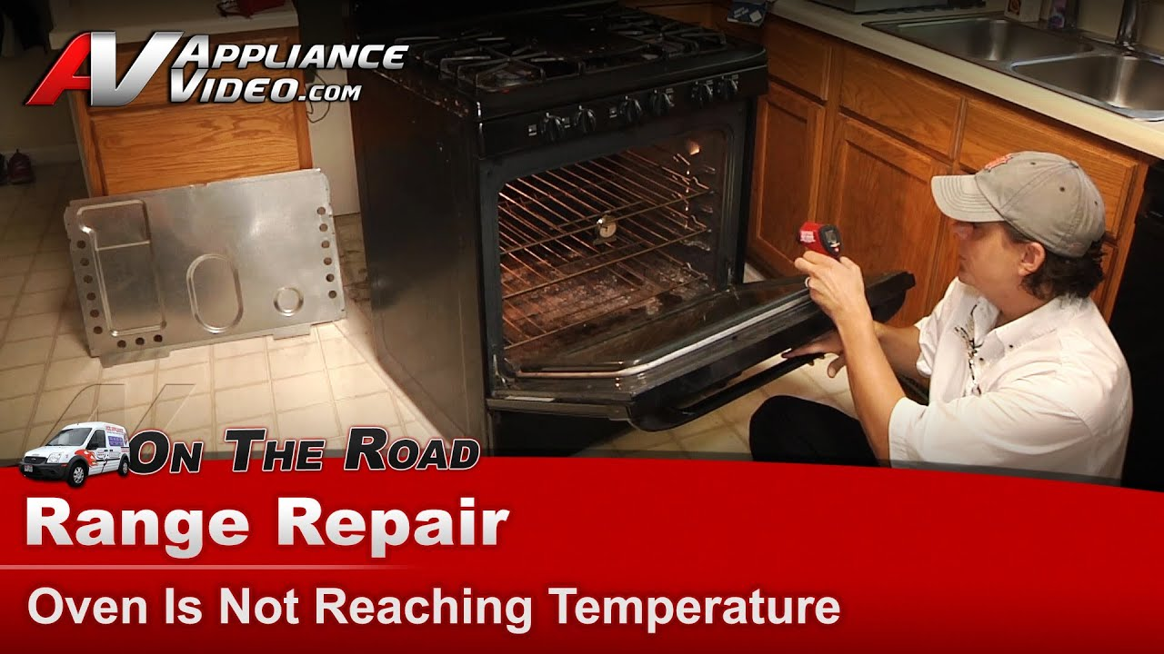 Kenmore & Whirlpool Range Repair - Oven Is Not Reaching Temperature -  79078859602