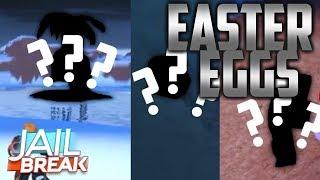 JAILBREAK WINTER UPDATE EASTER EGGS! (Roblox)