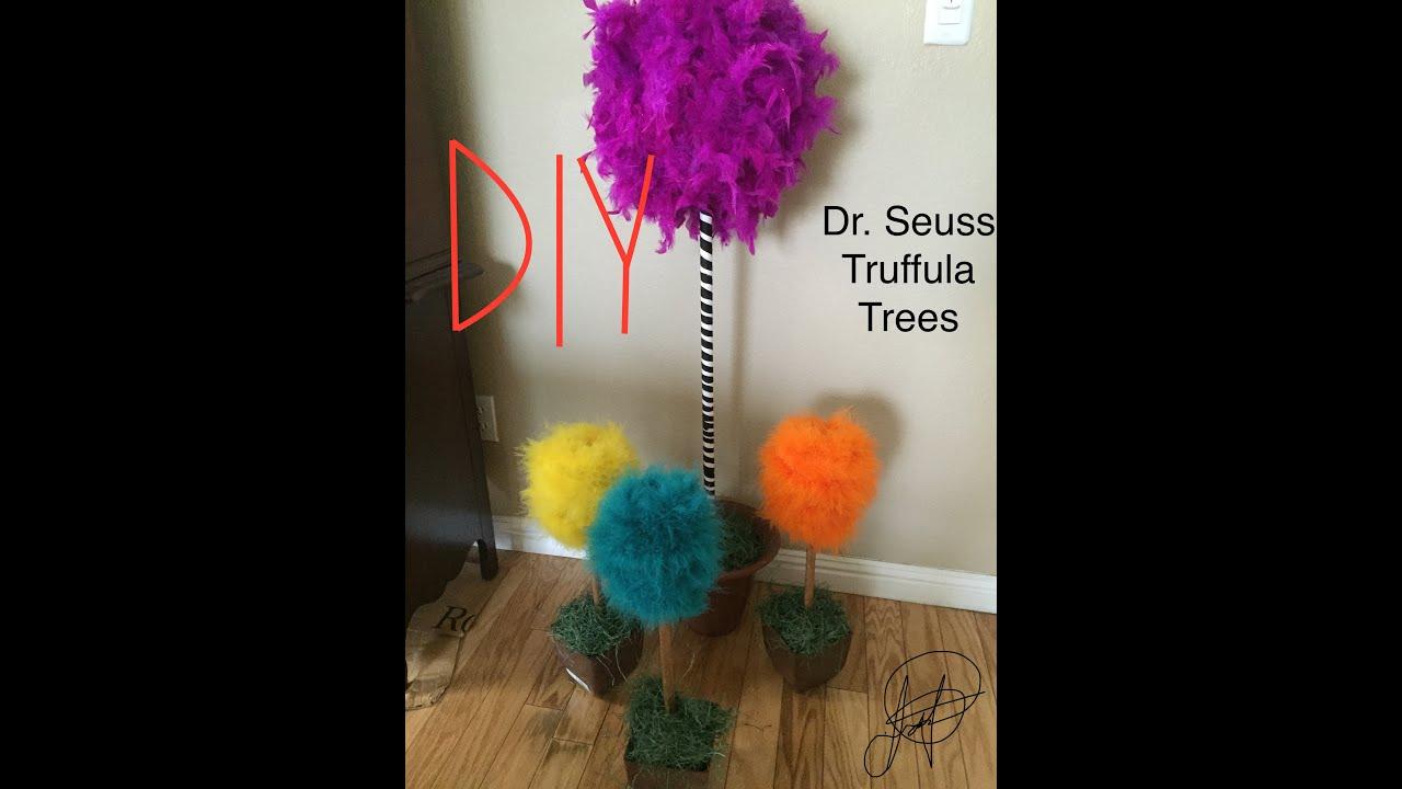 Diy Truffula Tree Youtube