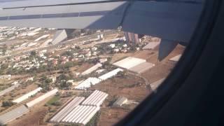 هبوط طائرة الخطوط التركية في مطار انطاليا