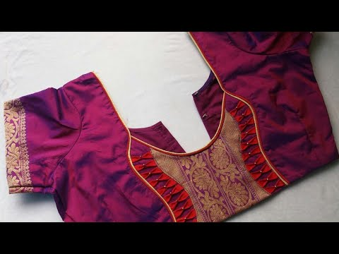 awesome model blouse design cutting and stitching 2018