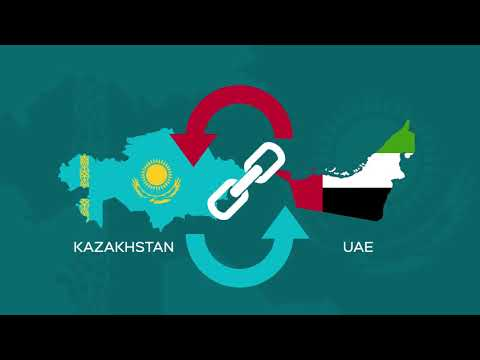 Trade and economic mission of Republic of Kazakhstan to Dubai(Press Video: AETOSWire)