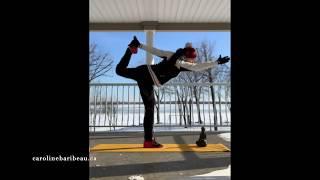 Snow yoga - 20 min
