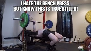 Why The Standing Press Can NOT Replace The Bench In Powerlifting!