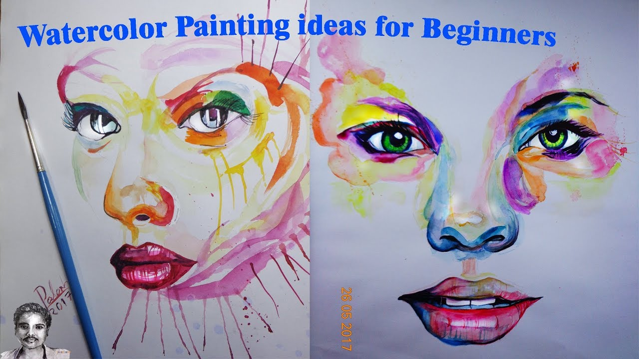 how to make an abstract painting for beginners