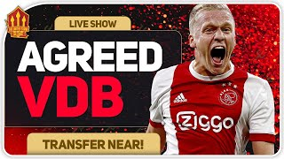 VAN DE BEEK TO UNITED AGREED! | Man United News