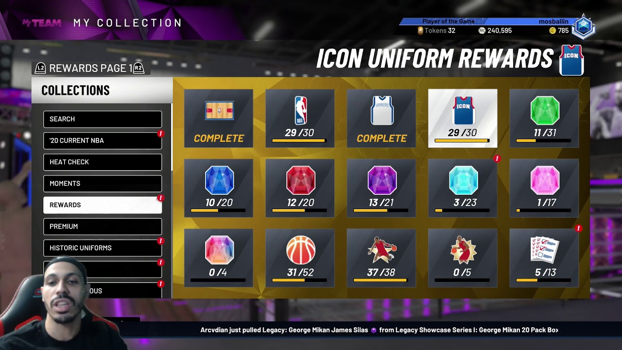 NBA 2K21: MyTeam Limited Event Stipulations Set For September 4-6