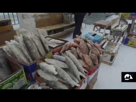 Extreme living: Yakutsk Open Air Market at -45°C