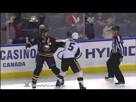 Deryk Engelland vs John Scott Feb 5, 2014