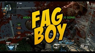 COD Black Ops 2: Fag Boy (Little Kid Won