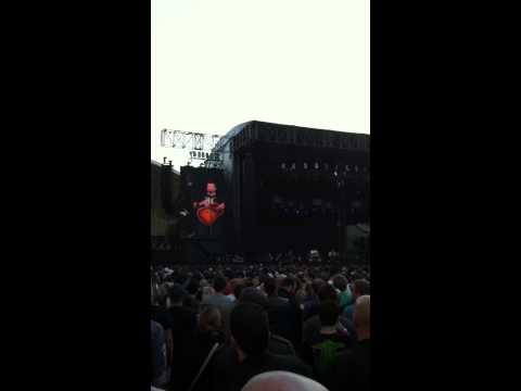 Making love to the lovely ladies Tenacious D Friday December 2 2011 AAMI Park Melbourne