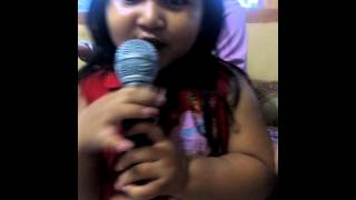 Lagu Selamat ulang tahun (Anak kecil rebutan mic)