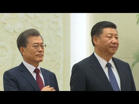 China and South Korea vow to improve bilateral ties