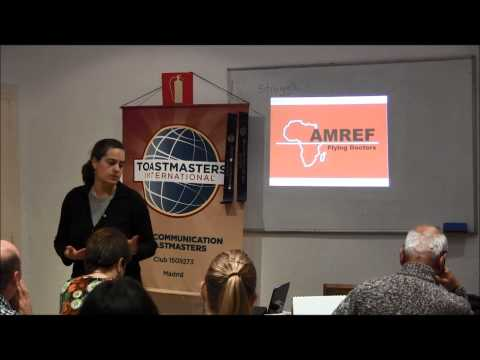 #10 Inspire Your Audience - You can save lifes in Africa - Nova Communication Toastmasters in Madrid