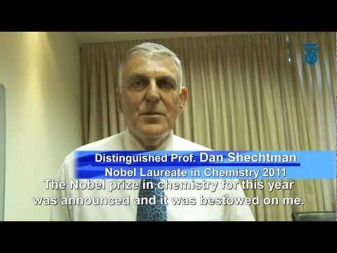 Phone Call From Stockholm Prof. Dan Shechtman 2011 Nobel Prize Chemistry