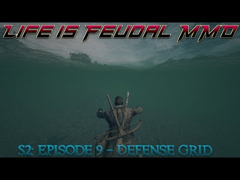 Life is Feudal: MMO - S2  Episode 9: Defense Grid - Master ⚒Blacksmith (1080p) 60FPS