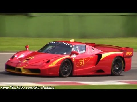 Ferrari FXX Evo Insane Sound and Accelerations!