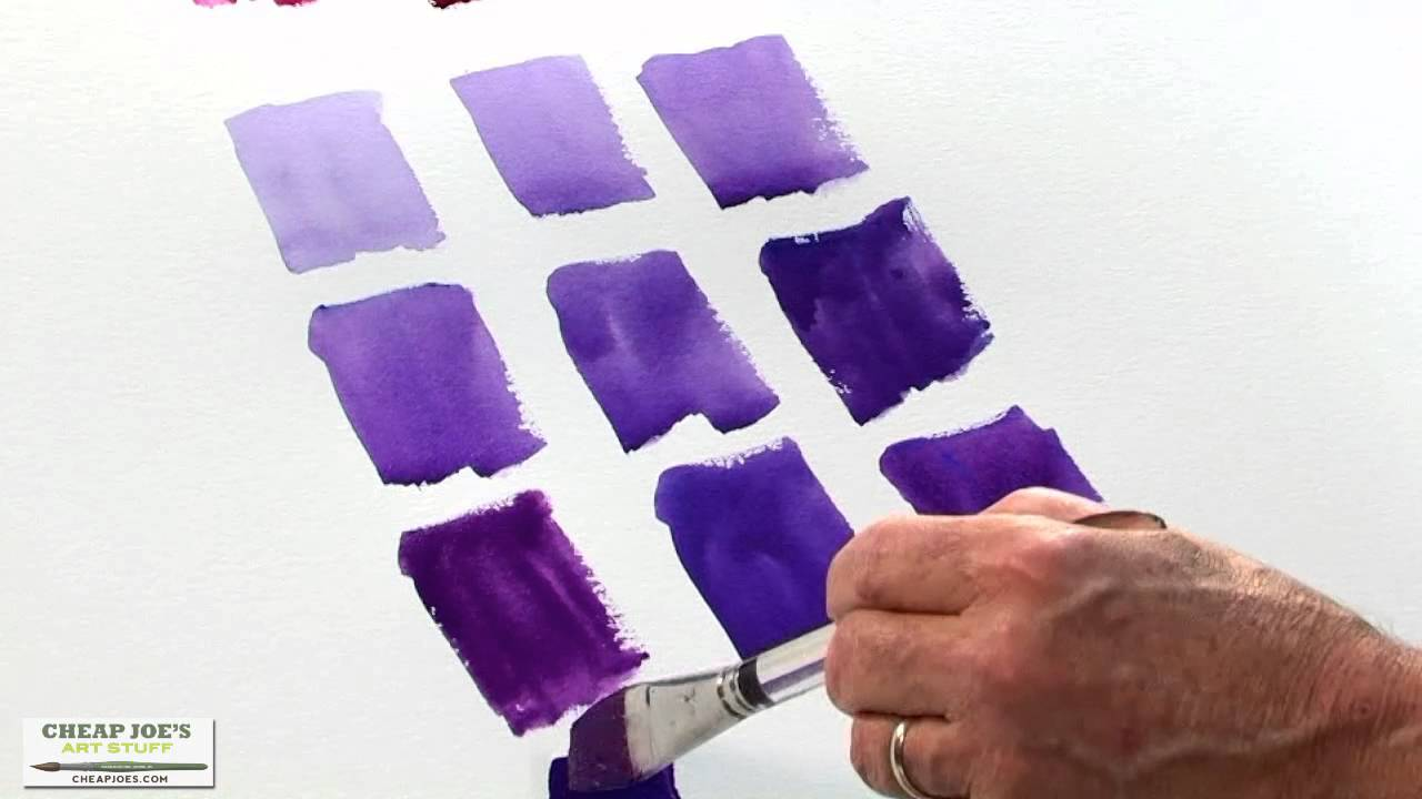How to get purple color Mixing colors to create different shades 43
