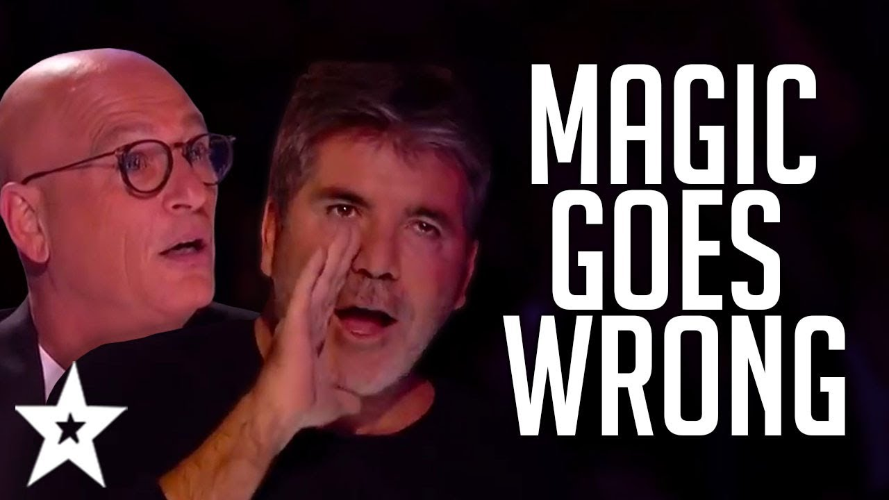 When MAGIC Auditions Go WRONG On Got Talent! | Got Talent Global