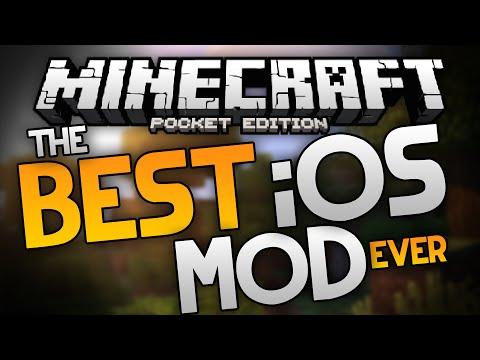 THE BEST iOS MOD EVER!?!?! - World Shaper Inventory & World Editor - Minecraft Pocket Edition