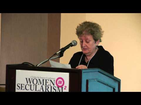 Katha Pollitt: Sexism and Religion: Can the Knot Be Untied? | CFI's Women in Secularism 2 Conf 2013