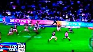 Rabbitohs vs roosters rabbitohs miracle try