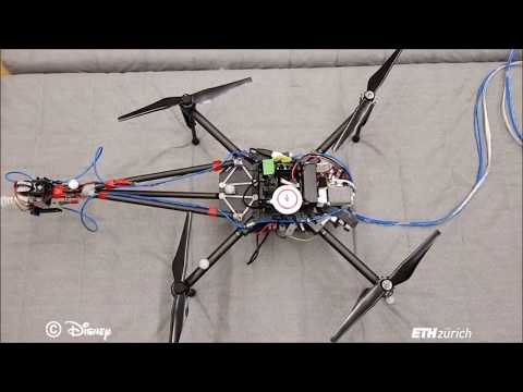 Disney takes to the air with an autonomous paint-spraying drone