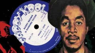 "Barry Brown & Ranking Toyan - Peace + Love 12""  1981"