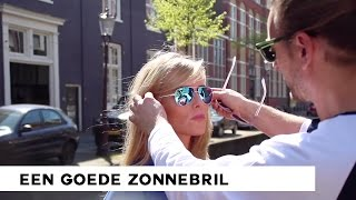Een goede zonnebril - Beauty tips Tom Sebastian