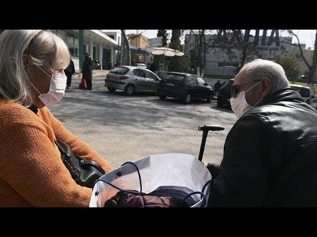 <span class='as_h2'><a href='https://webtv.eklogika.gr/' target='_blank' title='Ελλάδα: Πέντε νεκροί το τελευταίο 24ωρο - 62 νέα κρούσματα…'>Ελλάδα: Πέντε νεκροί το τελευταίο 24ωρο - 62 νέα κρούσματα…</a></span>