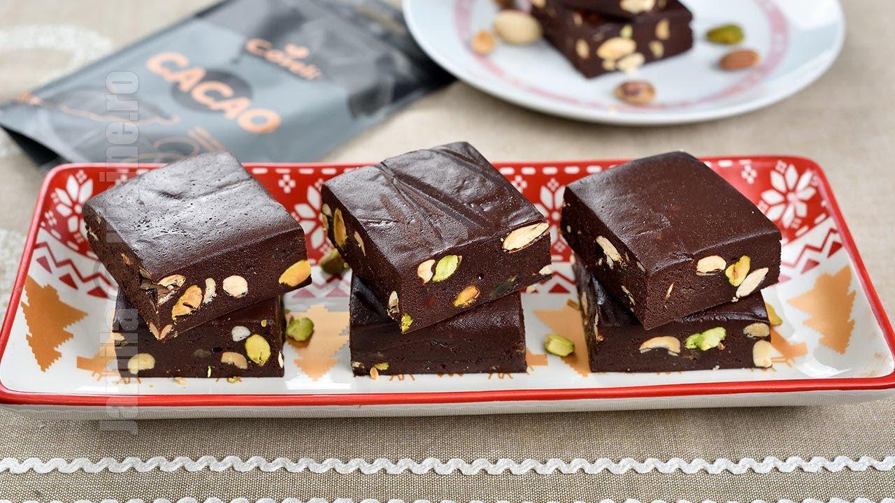 Ciocolata de casa gata in 10 minute