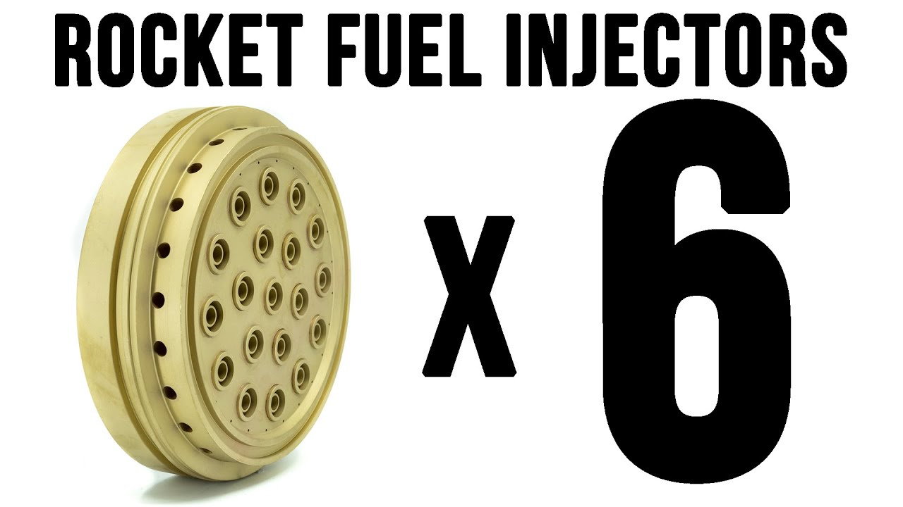 The Story of Many ROCKET Fuel Injectors
