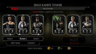 Mortal Kombat X Android Shao Kahn's Tower Fight 1 - 9