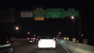 I-278 East: Brooklyn New York at Night