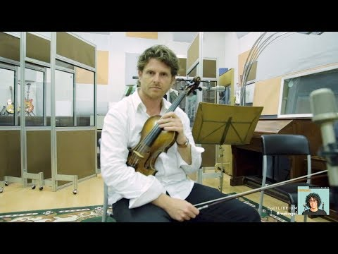 "Giovanni Allevi - ""Equilibrium"" - #makingof - Interview with the First Violin"