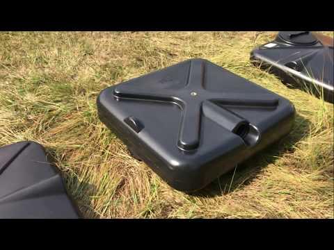Пластиковые баки для летнего душа на дачу 130, 200, 250 литров