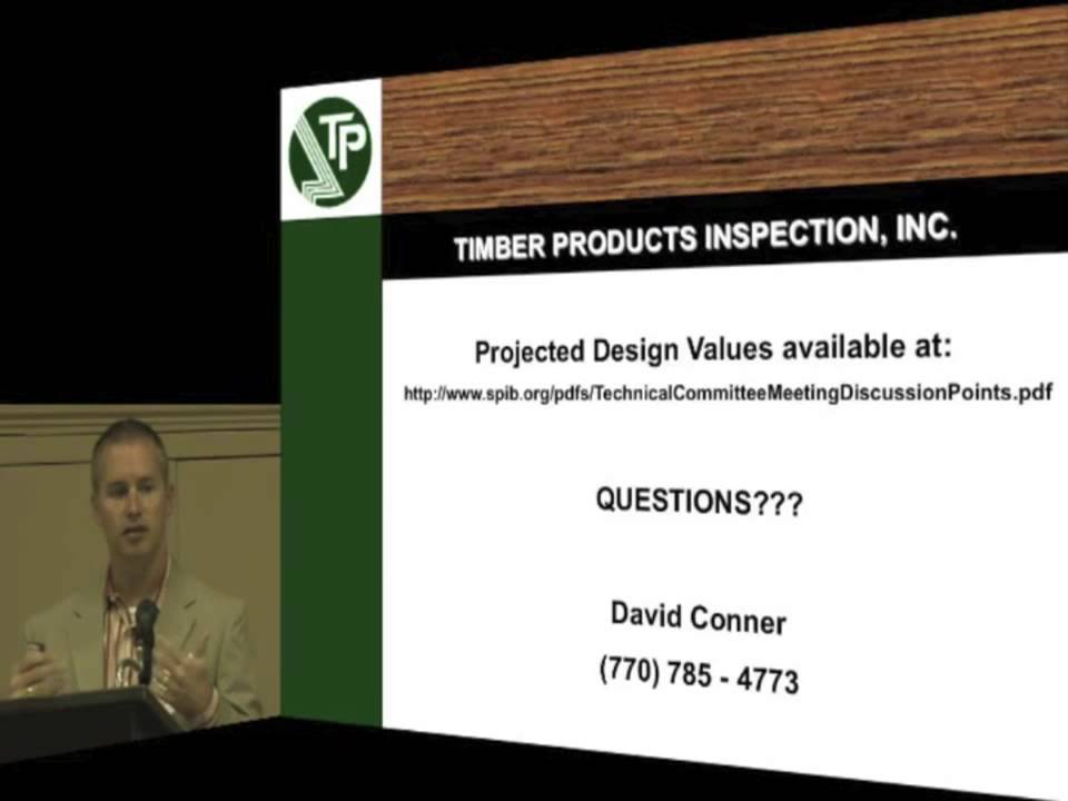 Southern Yellow Pine Design Values Pt 4 Youtube