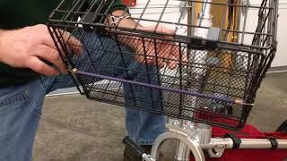 TravelScoot Basket Installation