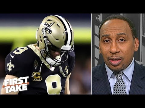 Cowboys' loss may have cost Drew Brees the MVP - Stephen A. | First Take
