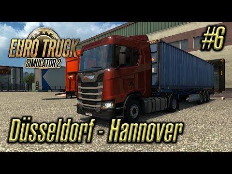 Euro Truck Simulator 2 | Episode #6 | Düsseldorf - Hannover