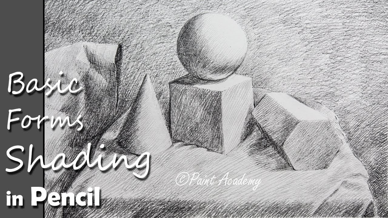 How to shade basic 3d forms pencil shading techniques