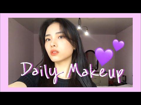 Повседневный корейский макияж 💄