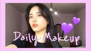 Повседневный корейский макияж