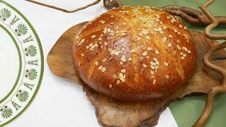 Праздничный хлеб с тремя сырами
